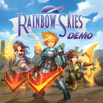 Rainbow Skies Demo PS4
