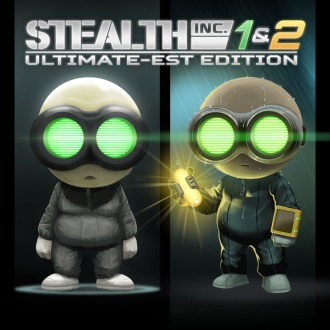 The Stealth Inc 1 & 2 Ultimate-est Edition PS4 / PS3 / PS Vita
