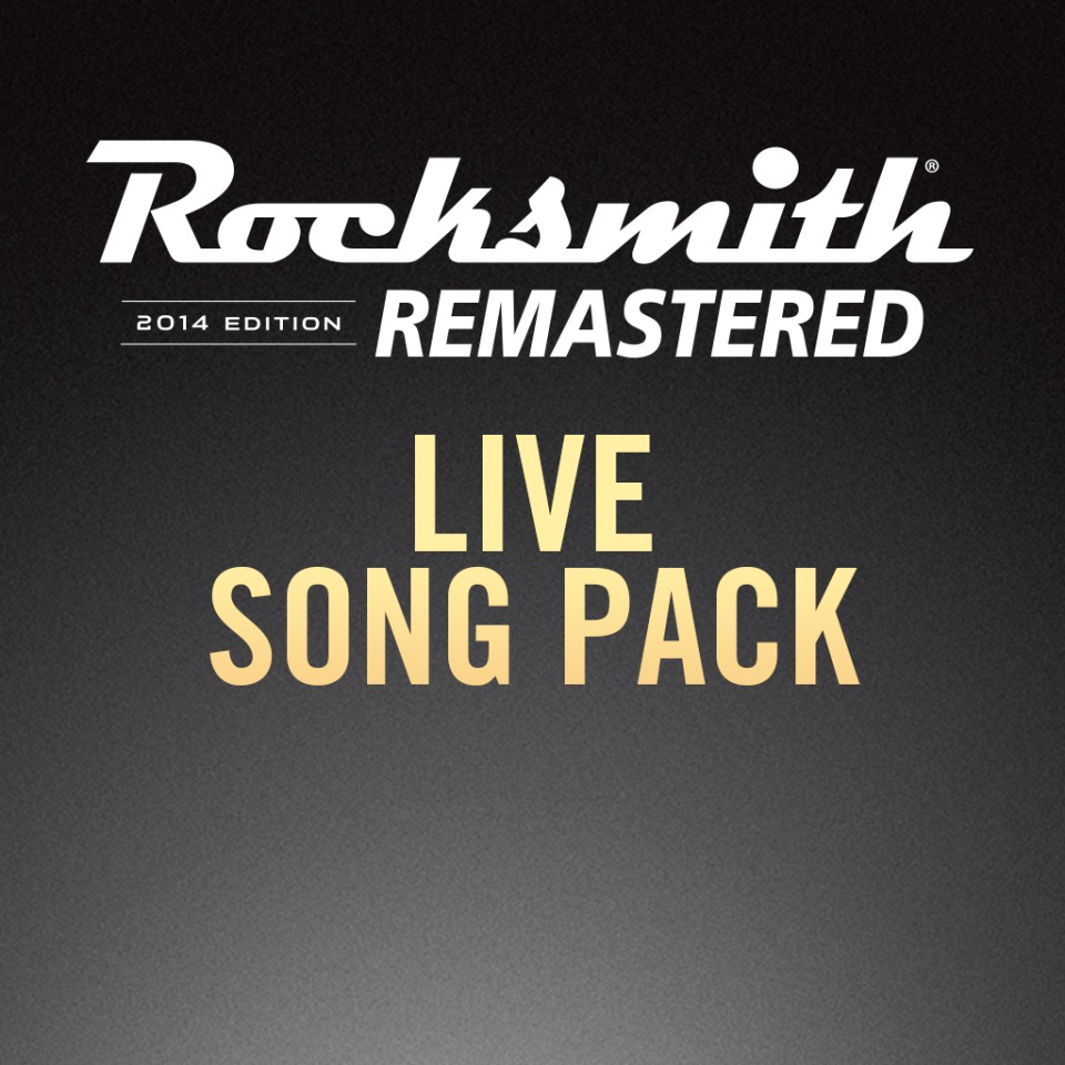 Rocksmith 2014 – Live Song Pack