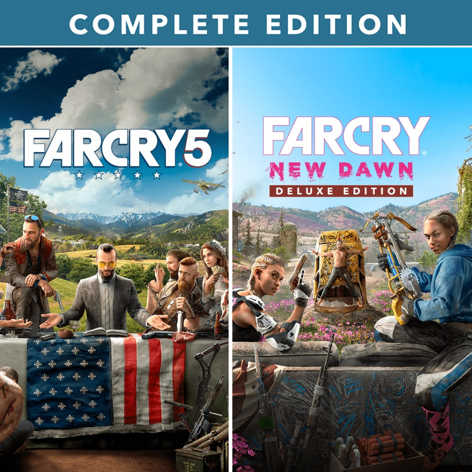 Far Cry 5 + Far Cry New Dawn Complete Edition