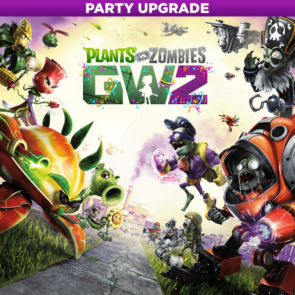 Plants vs. Zombies Garden Warfare 2 — Party Upgrade