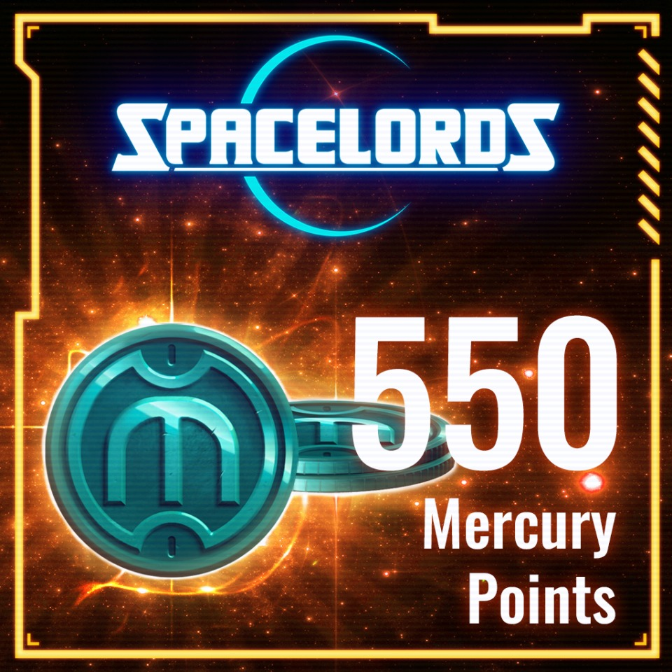 Spacelords: 550 Mercury Points