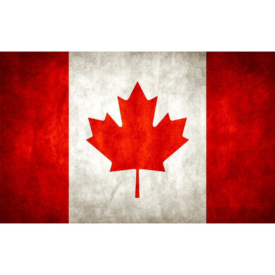 CANADA FLAG DISTRESSED AVATAR