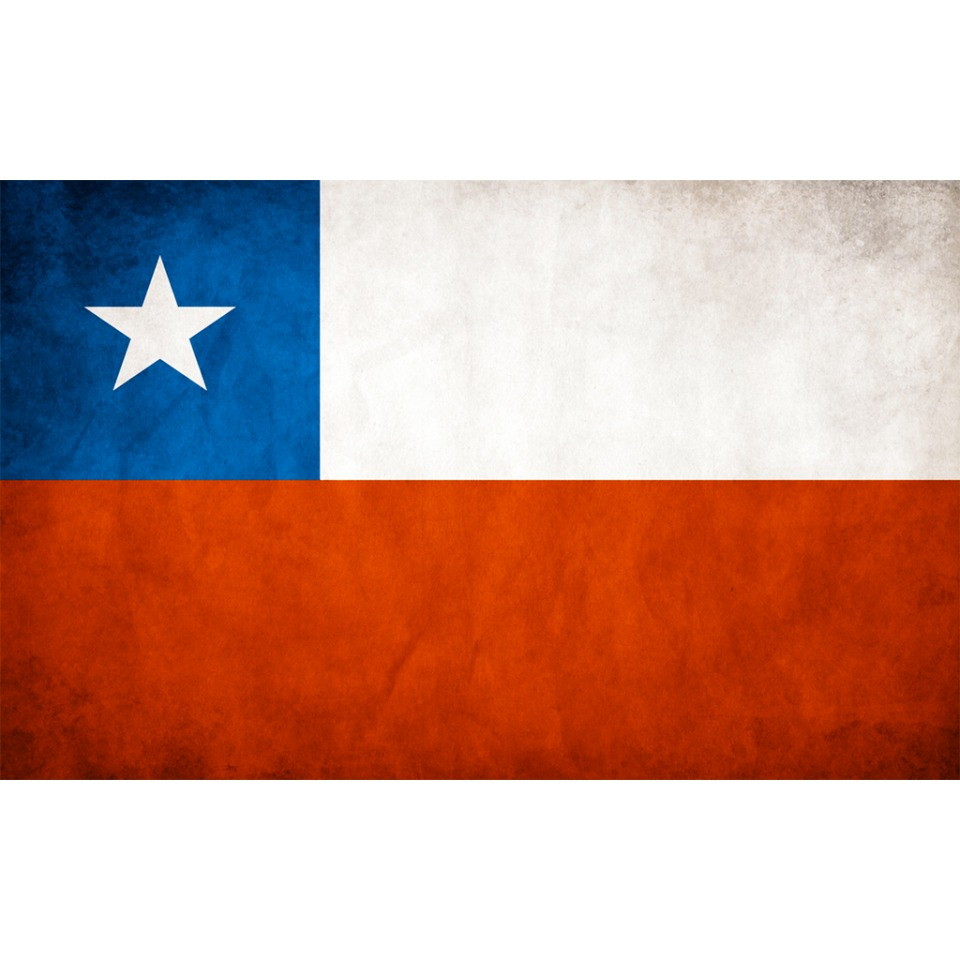CHILE FLAG DISTRESSED AVATAR