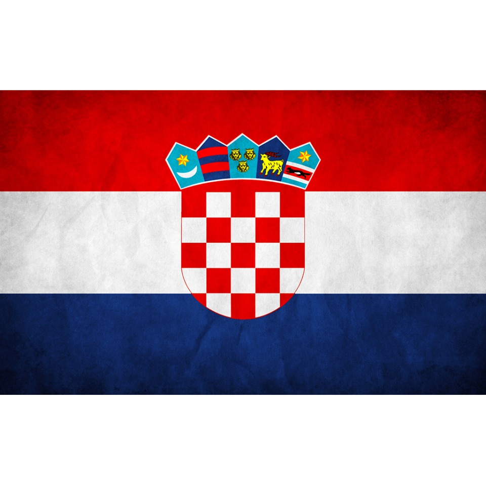 CROATIA FLAG DISTRESSED AVATAR