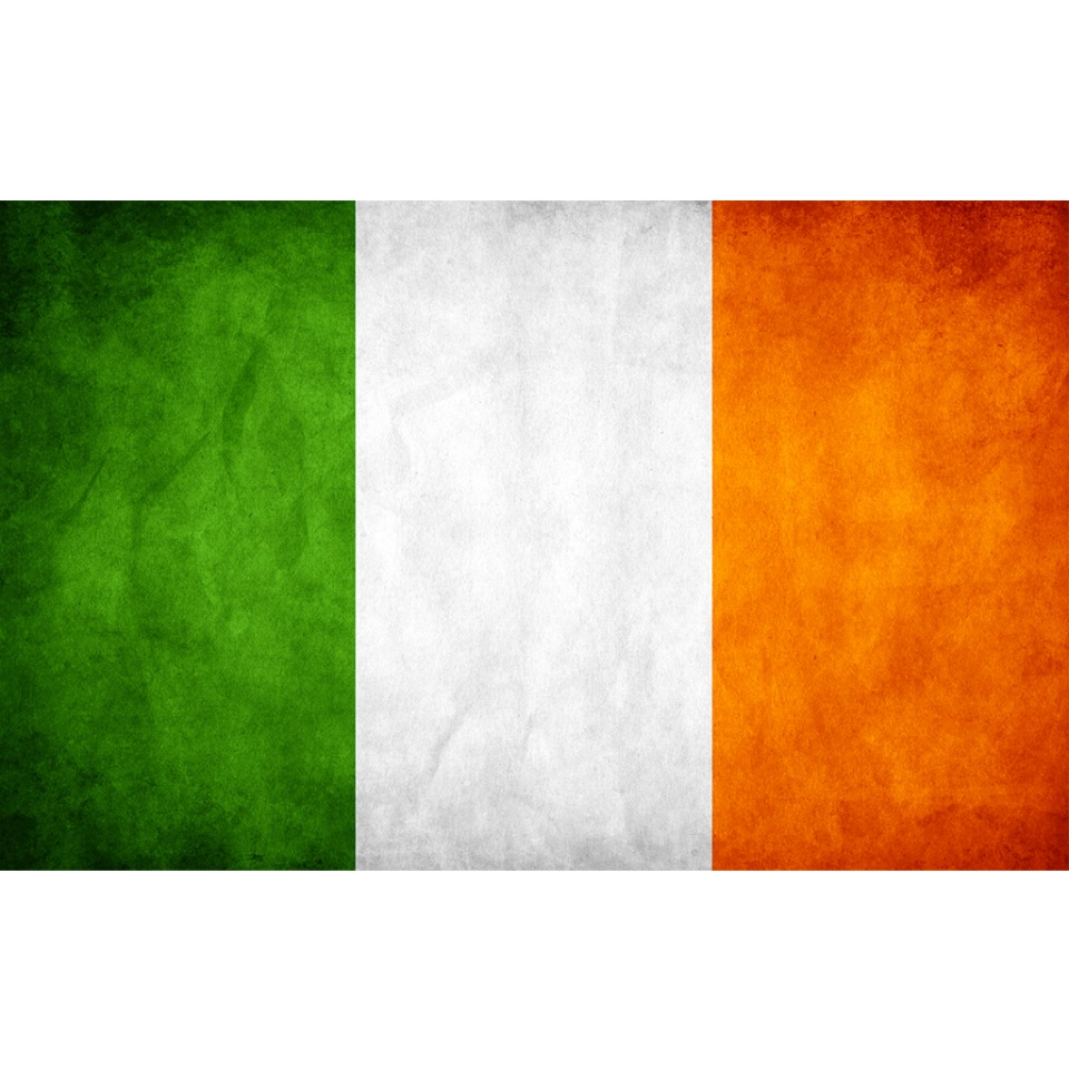 IRELAND FLAG DISTRESSED AVATAR