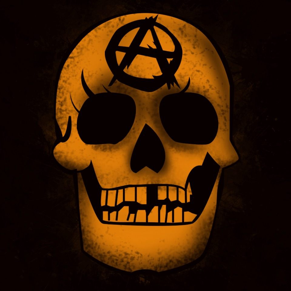 AVATAR ANARCHIST SKULL