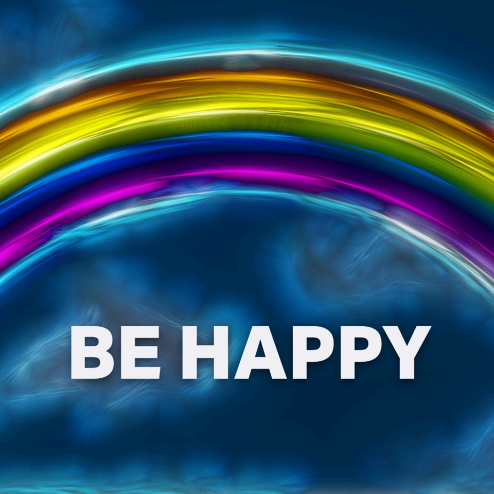 AVATAR BE HAPPY RAINBOW