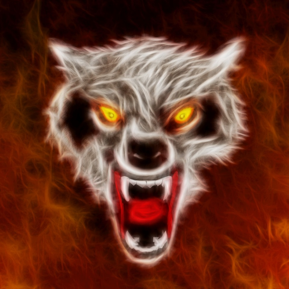 AVATAR WOLF OF FIRE