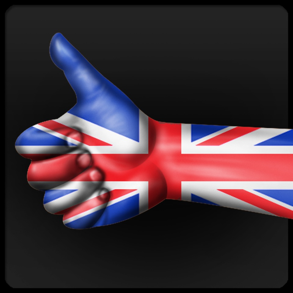 Avatar Union Jack Thumbs up