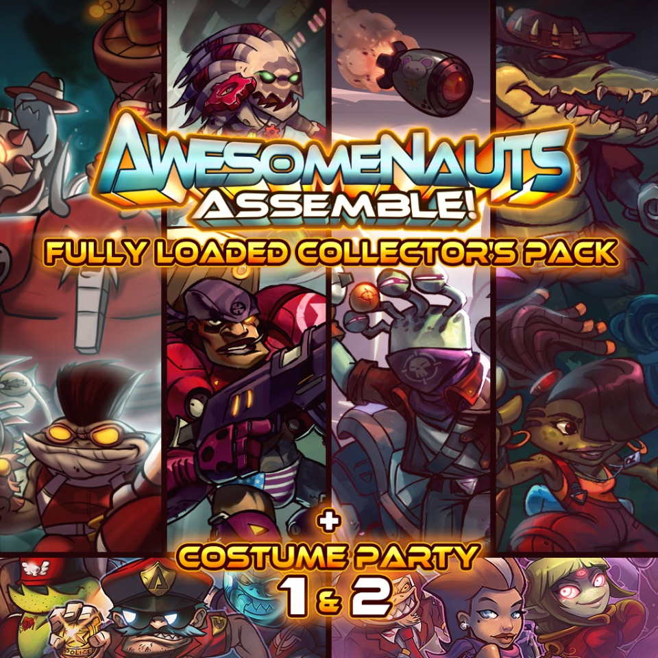 Awesomenauts Assemble! Fully Loaded Collector's Pack