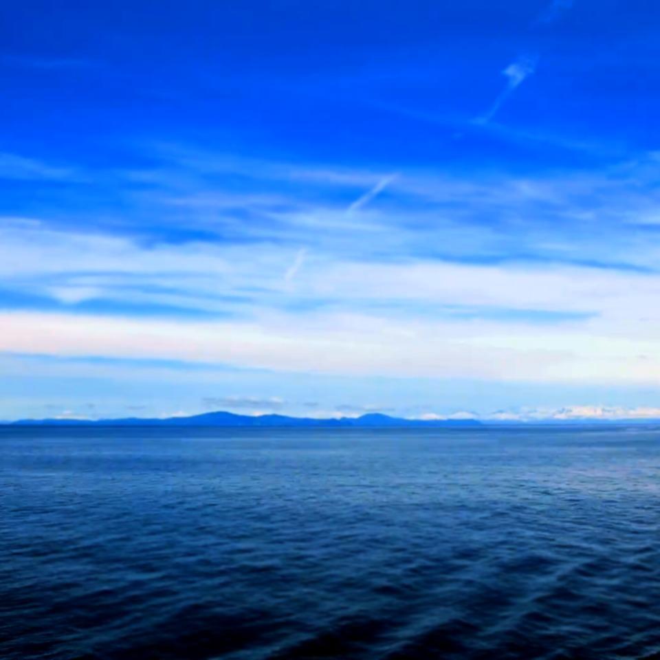 синий океан динамическая тема