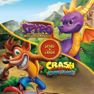 Spyro™ + Crash Remastered Game Bundle PS4