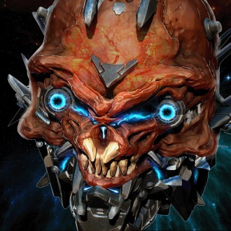 X-Morph Defense Orange Brute Avatar PS4