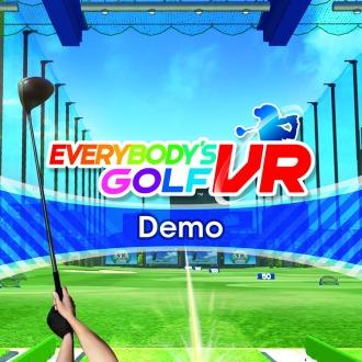 Everybody's Golf VR Demo PS4