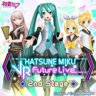 Hatsune Miku: VR Future Live 2nd Stage PS4