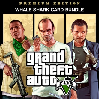 Grand Theft Auto V, Criminal Enterprise Starter Pack and Whale Shark Card Bundle PS4