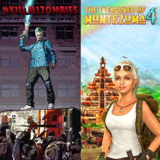 KILLALLZOMBIES&THE TREASURES OF MONTEZUMA 4 BUNDLE PS3