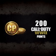 200 Call of Duty®: WWII Points(English/Chinese/Korean Ver.)