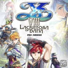 Ys VIII -Lacrimosa of DANA- Standard Edition Pre-Order(Chinese Ver.)