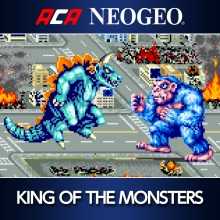 ACA NEOGEO KING OF THE MONSTERS(English/Japanese Ver.)