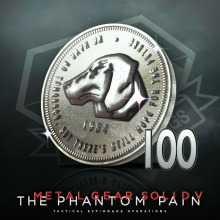 METAL GEAR SOLID V: THE PHANTOM PAIN - 100 MB Coins