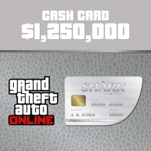 Grand Theft Auto Online Great White Shark Cash Card