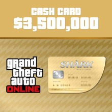 Grand Theft Auto Online Whale Shark Cash Card