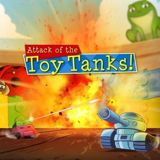 Attack of the Toy Tanks PS4 / PS Vita