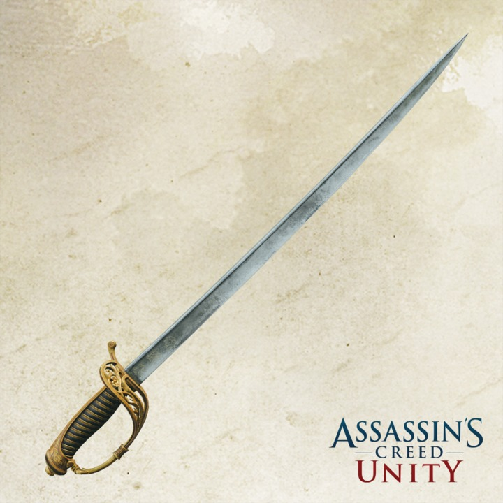 AC Unity - Sabre of Honour PS4 — buy online and track price - PS