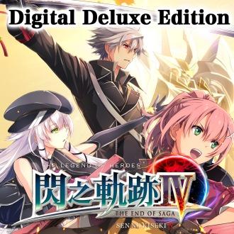 (Pre-Order)THE LEGEND OF HEROES: SEN NO KISEKI IV Digital Deluxe Edition PS4