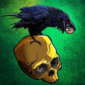 X-Morph Raven Skull Avatar PS3