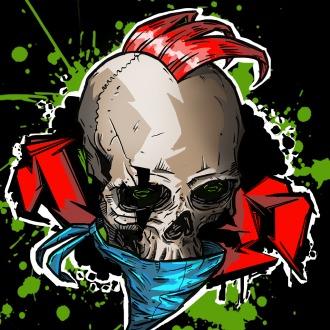 X-Morph Punk Skull Avatar PS3