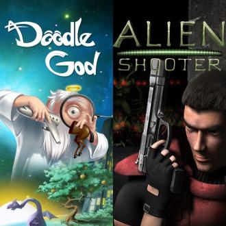 Alien Shooter + Doodle God Bundle PS3