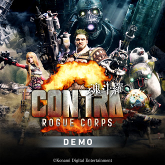 CONTRA: ROGUE CORPS Demo PS4