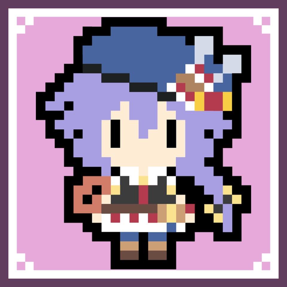 4 Goddesses Online - Pixel Plutia Avatar