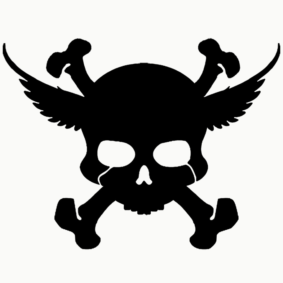 SKULL AND CROSS BONES BLACK Avatar