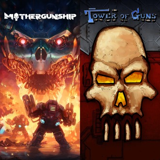 MOTHERGUNSHIP + Tower of Guns BUNDLE PS4 / PS3