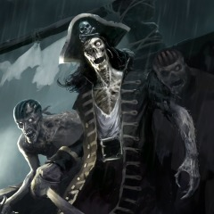 Zombie Pirates Dynamic Theme for PS4 — buy cheaper in official store
