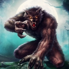 Angry Dynamic Werewolf Dynamic Theme for PS3 — buy cheaper