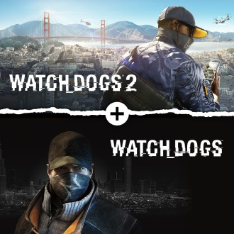 Watch Dogs 1 + Watch Dogs 2 Standard Editions Bundle  PS4