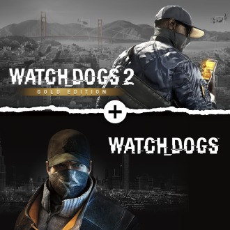 Watch Dogs 1 + Watch Dogs 2 Gold Editions Bundle PS4