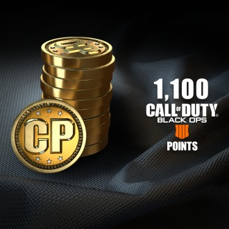 1,100 Call of Duty®: Black Ops 4 Points PS4