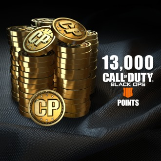 13,000 Call of Duty®: Black Ops 4 Points PS4