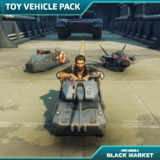 Just Cause 4 - Toy Vehicle Pack PS4