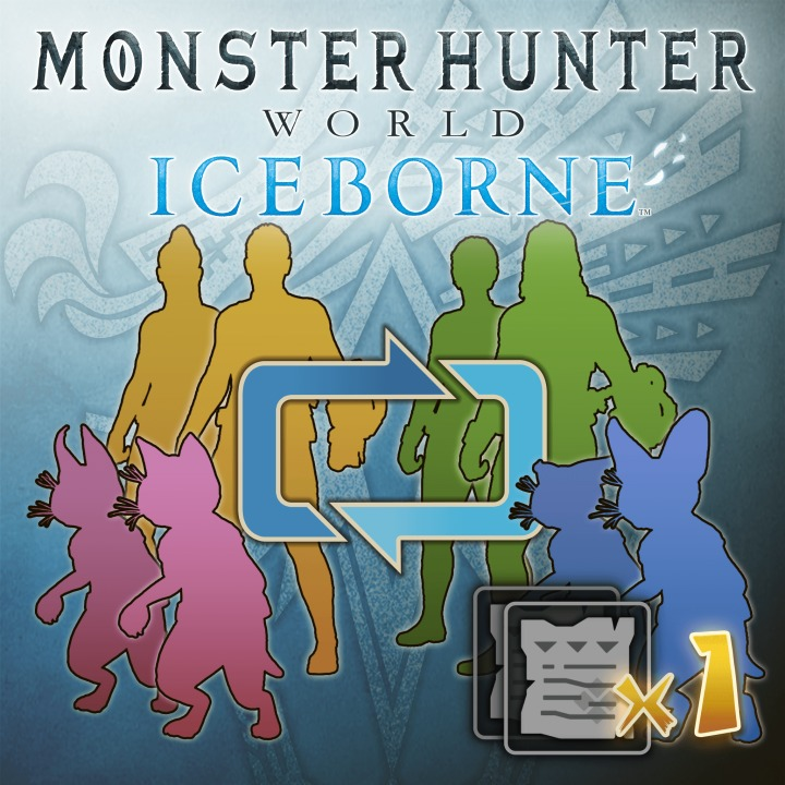 MHW:Iceborne - Character & Palico Edit Voucher: Single Voucher