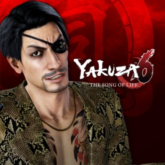 Yakuza 6: The Song of Life SSR Goro Majima Clan Creator Card PS4
