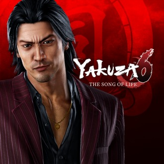 Yakuza 6: The Song of Life SSR Shun Akiyama Clan Creator Card PS4