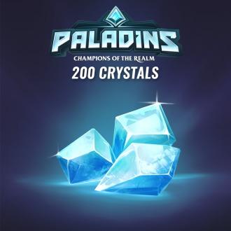 200 Paladins Crystals PS4