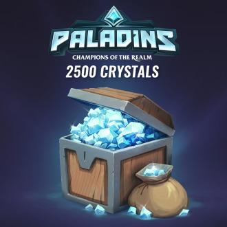 2500 Paladins Crystals PS4